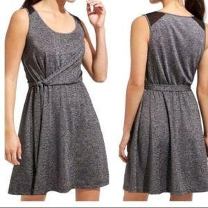 Athleta Sweet Saturday Faux Wrap Dress L